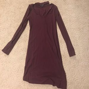 Form fitting purple dress from Nordstrom!